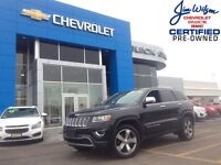 2014 Jeep Grand Cherokee Limited V6 4X4 LEATHER NAV!!!