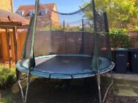 Plum 10ft Trampoline for sale
