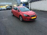 Vauxhall Astra Salvage Light Damage Cat D 2012 Low mileage