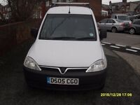 COMBO VAN..1.7cc DIESEL..2005..WITH 2 SLIDE DOORS..3 SEATER BACK..FULL YEAR MOT