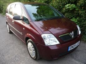 2005 Vauxhall Meriva 1.4 i 16v Life 5dr FULL SERVICE HISTORY ONE OWNER FROM NEW CHEAP CARS