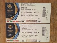 ICC Champions Trophy - 2 tickets at FACE VALUE (£40 each) for Australia v New Zealand