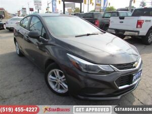 2017 Chevrolet Cruze LT | ONE OWNER | CAM | HEATED SEATS