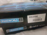 25£ 2xNew Subaru rear brake discs