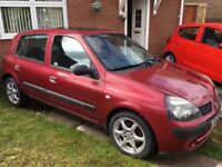 renault clio spare or repaire offers