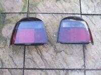 Mk3 golf gti rear lights