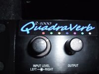 Alesis Quadraverb 2-1000 with 1000 Programs - 800 PRESETS - 200 USER