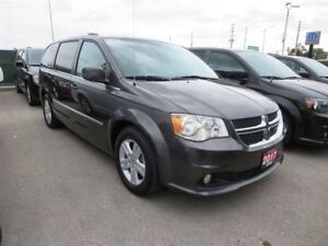 2017 Dodge Grand Caravan Crew - pwr sliding doors, back up cam,