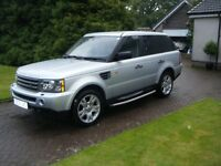 Land Rover Range Rover Sport 2.7 TD V6 HSE 5dr 2006 ONLY 54,500 Genuine Miles Excellent Condition