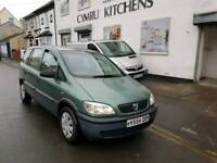 CHEAP 7 SEATER. VAUXHALL ZAFIRA. IDEAL FAMILY CAR. PX WELCOME