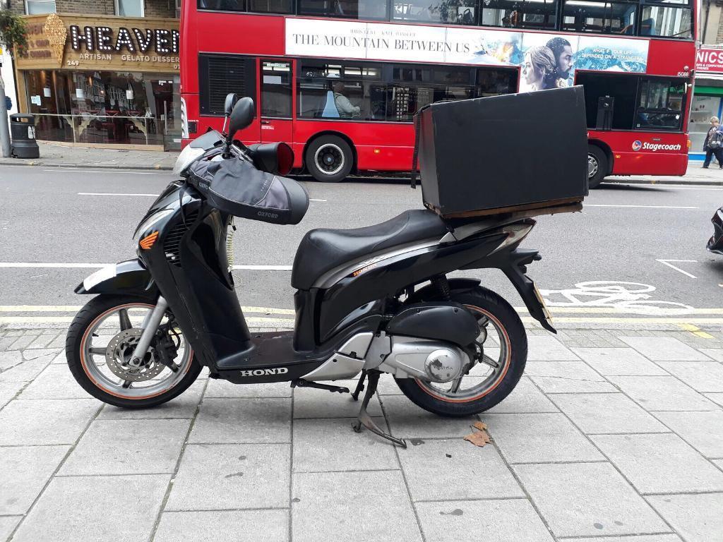 Honda Sh125 2012 Black