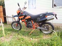KTM 640 SUPER MOTO 2003