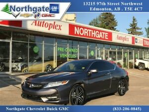 2016 Honda Accord Touring V6 1 Owner, Leather, Sunroof, Navigati