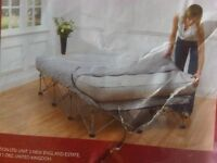 Double Bed, Inflatable Folding Frame. Electric Pump Included. Excellent Condition.