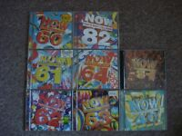 selection of now cds