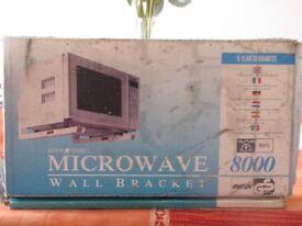 MICROWAVE OVEN WALL-BRACKET/SHELF