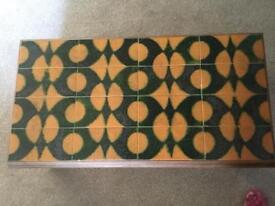Tile Top Coffee Table 1970