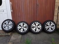 MAZDA 6 WINTER TYRES WITH ALLOY RIMS 215/50/17