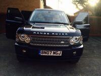 2007 Range Rover vouge 3.6 diesel full Land Rover history 2 keys HPI clear