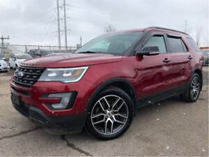 2017 Ford Explorer Sport LEATHER NAV MOONROOF 6PASS