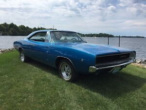1968 Dodge Charger RT clone , completely restored