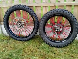 Rieju mrt pro wheels off road road legal rubber