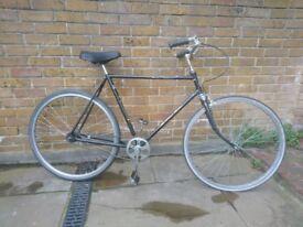 Vintage Dutch bicycle retro cycle