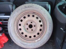 VW Sharan / Seat Alhambra / Ford Galaxy SPARE WHEEL 5x112mm 215 55 16 95H