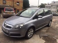 VAUXHALL ZAFIRA 1.6 CLUB 7 SEATER VERY ECONOMICAL EXCELLENT RUNNING CONDITION HPI CLEAR NO FAULTS!