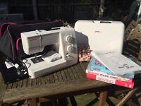 Janome 7025 Sewing Machine & accessories