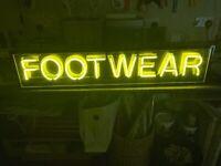 Advertising neon light