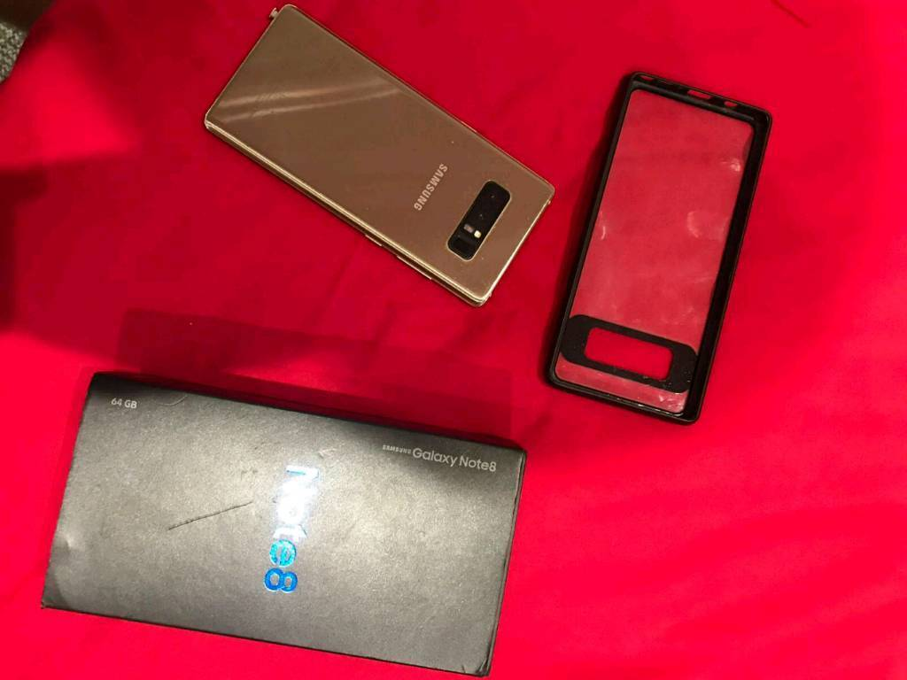 Samsung galaxy note 8 gold unlock free delivery if local   in Hounslow,  London   Gumtree