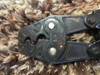 Heavy duty crimp tool