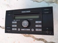 FORD TRANSIT STEREO CD PLAYER MK 7 2006-2013 WITH CODE