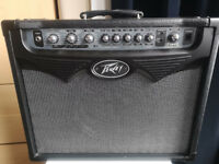 Peavey Vypyr 30 guitar amp for sale with Peavey Sanpera 1 Footswitch and a Roqsolid cover.