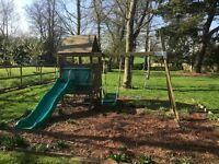 TP slide, swing and den combo