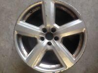 Audi 5 spoke Alloy wheel 18 inches