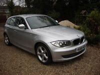 BMW 1 Series 2011 118d 'Sport' MOT Jan 2019. Sport hatchback. Full Service history