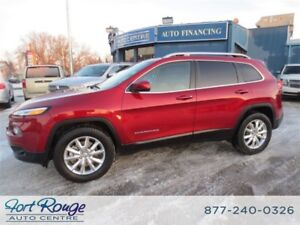 2016 Jeep Cherokee Limited 4X4 - NAV/SUNROOF/LTHR