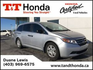 2011 Honda Odyssey LX* One Owner, No Accidents, Bluetooth