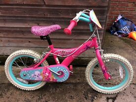 Barbie 16inch girls bike