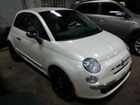 2014 FIAT 500c LOUNGE CUIR CONVERTIBLE AUTO