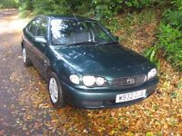 toyota corolla gs automatic, full service history,very clean