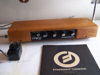 MOOG ETHERWAVE THEREMIN STANDARD USA MADE SYNTHESIZER