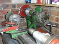 Portass Vintage Model Engineers Lathe