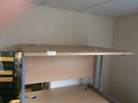 New Beech Desk Workstation Table