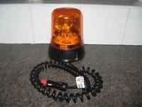 Rotating Beacon 12v Amber Car/ Van Magnetic Lamp Light - £20