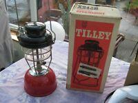 Tilley paraffin camping light X246B