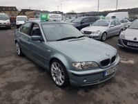 2003 BMW 330i Se e46 AUTOMATIC, 1 OWNER , LEATHER ,12 MONTHS M.O.T WARRANTY