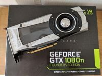 MSI NVIDIA GEFORCE GTX 1080Ti 11GB FOUNDERS EDITION GRAPHICS CARD GPU *BOXED AS NEW WITH WARRANTY*